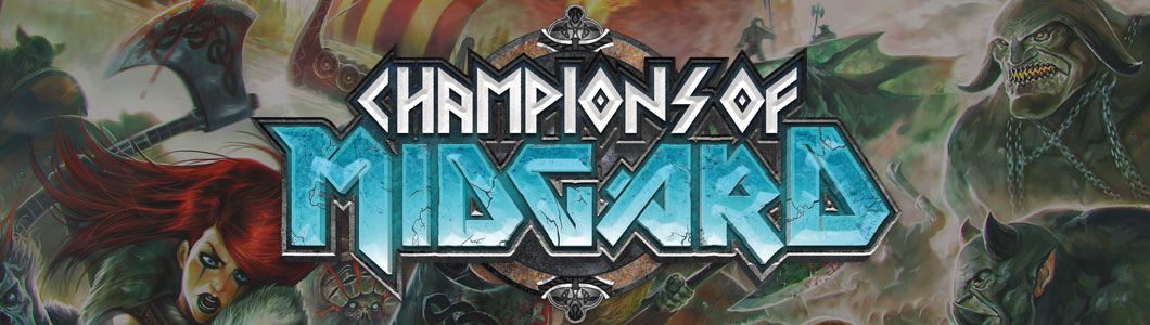 Champions of Midgard Game Logo - Feature Image