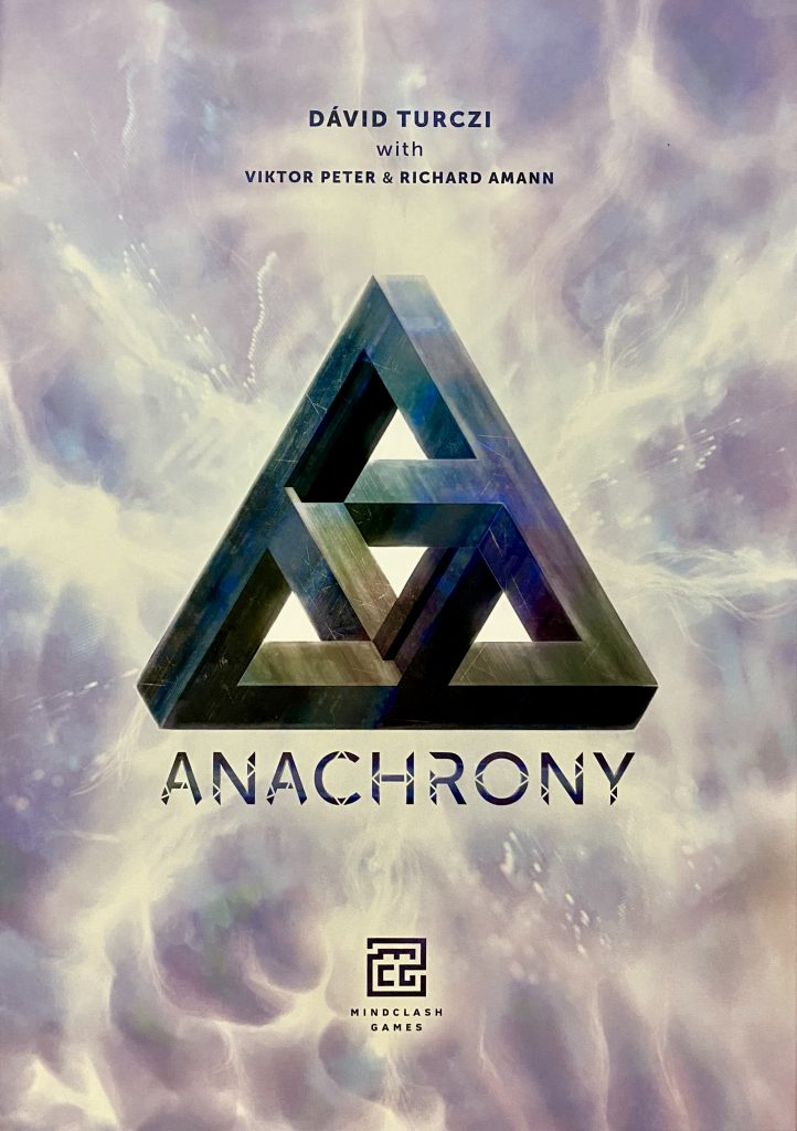Front cover of Anachrony board game box